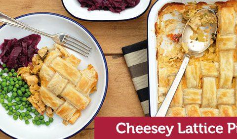 Cheesey Lattice Pie