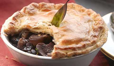 Chestnut Bourguignon Pie