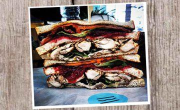 Festive Club Sandwich