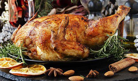 Slow Braised Turkey & Cranberry Pithivier, Burnt Sourdough Bread Sauce & Turkey Gravy - Take Stock magazine