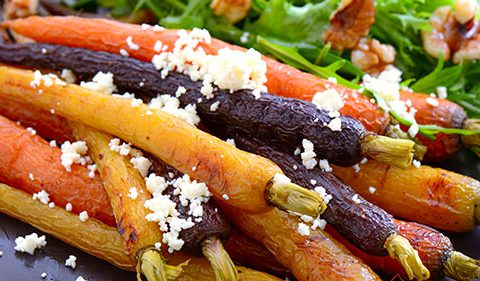 roasted carrot salad - Take Stock magazine