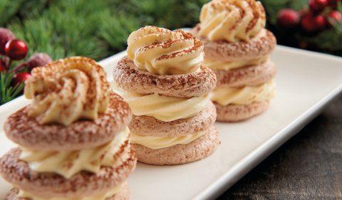 Chocolate Meringues with Baileys Custard Cream Take Stock Magazine