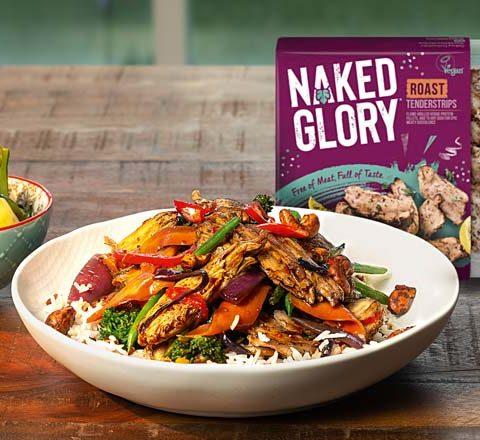 Naked Glory vegan range