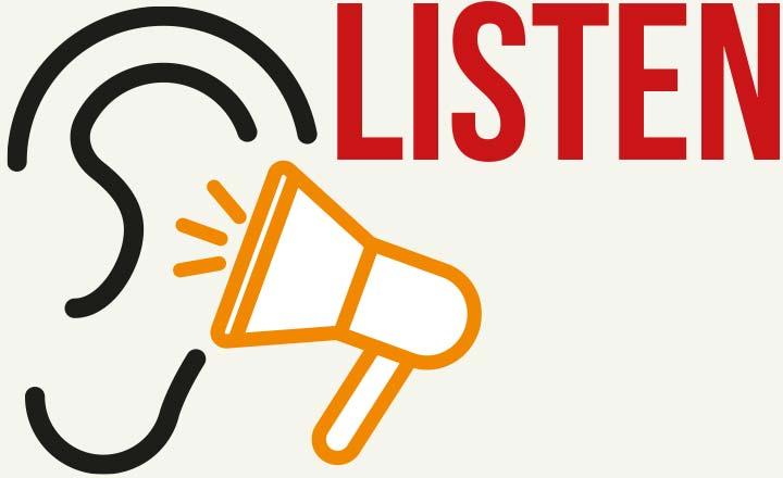 Ear – listen
