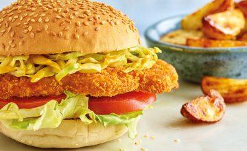Katsu Curry Burger
