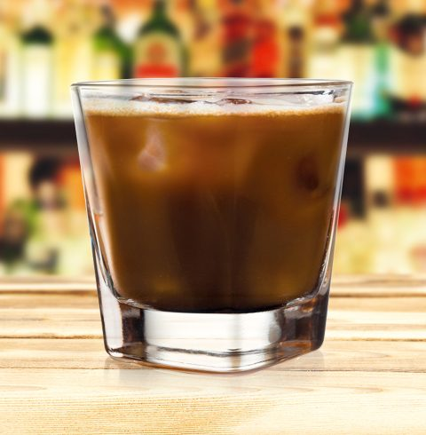 Iced Irish cocktail