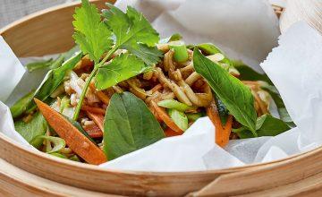 Stir-fried Vegetable Noodles