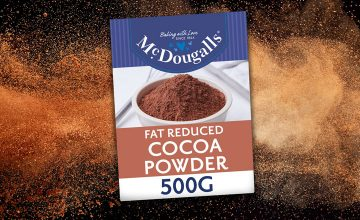 McDougalls launches reduced fat, vegan cocoa powder