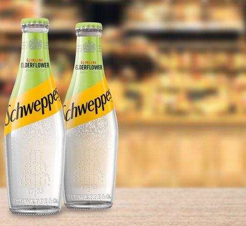 Schweppes Slimline Elderflower Tonic