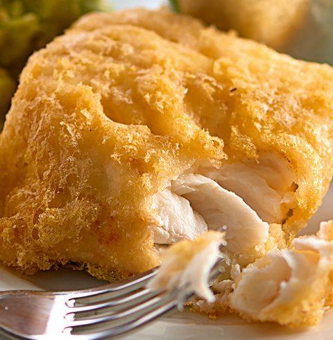 Gluten-free battered fish