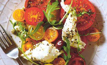 Tomato & Mozzarella Salad with Oregano